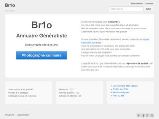 Br1o annuaire de sites internet de qualité